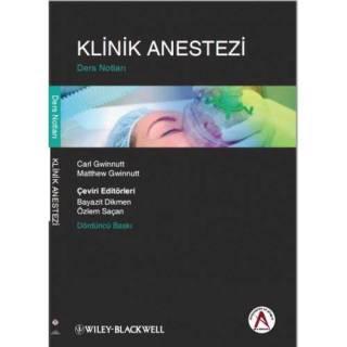 Klinik Anestezi Ders Notları